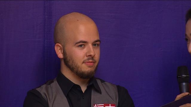 Brecel: It wasn't a very good final, I was lucky Murphy didn't play well!