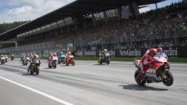 MotoGP'de sezonun 12. yarışı Büyük Britanya'da