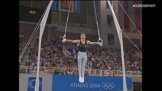 Jury Chechi bronzo agli anelli ad Atene 2004 a 34 anni: un esercizio indimenticabile!