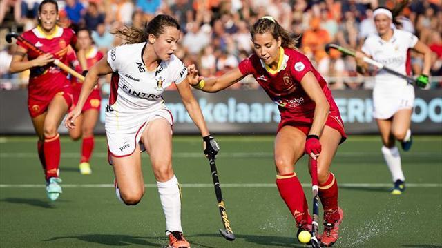 España pierde con Bélgica 1-2 y jugará por el quinto puesto