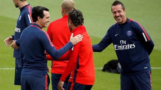 Unai Emery evita ponerse una meta en Champions, a pesar de tener a Neymar