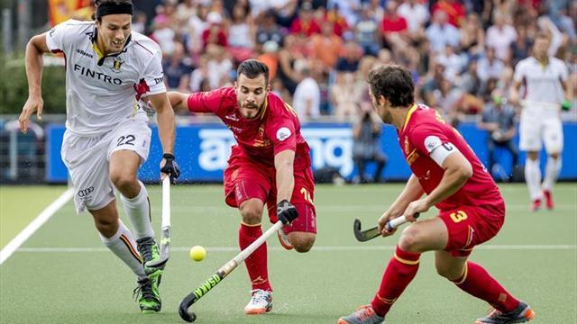 España derrota a Bélgica pero se queda fuera de la lucha por las medallas