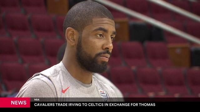Kyrie Irving e Isaiah Thomas cambian de equipo en el traspaso del año en la NBA