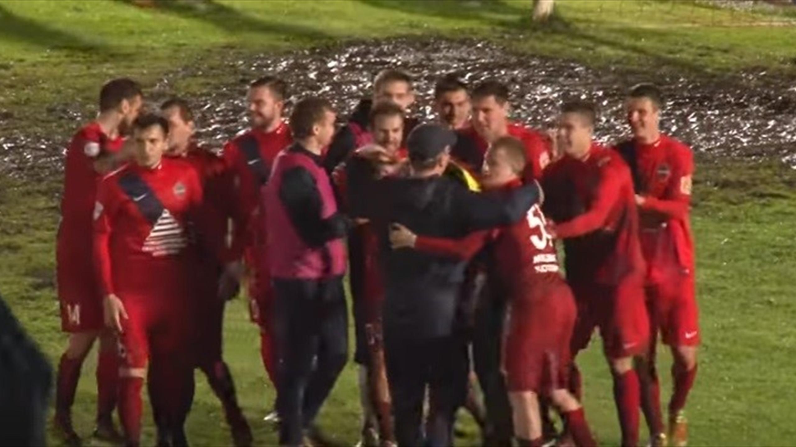 «Енисей» втяжелом матче Кубка Российской Федерации победил «Читу» попенальти