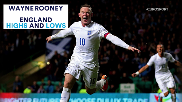 Wayne Rooney's England highs and lows