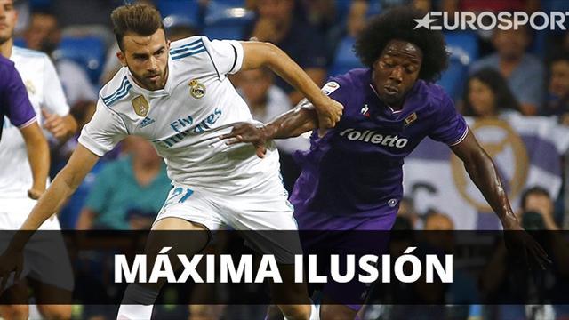 Real Madrid vs. Fiorentina: se miden por el Trofeo Santiago Bernabéu