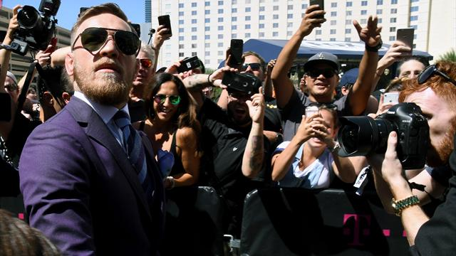 EXCLUSIVE: Conor McGregor tells Eurosport: 'I'm determined to win for my son'