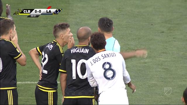 El VAR, decisivo en la victoria de Columbus sobre LA Galaxy (2-0)