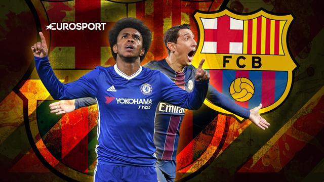 Euro Papers: Barcelona make Chelsea's Willian 'top priority'