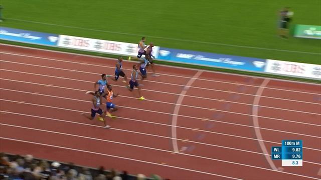 CJ Ujah takes stunning 100m victory