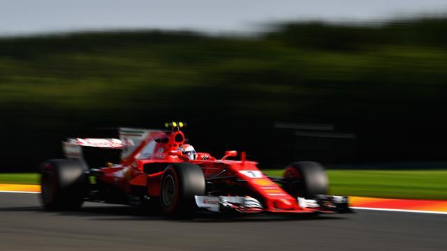 Räikkönen au top devant Vettel avant la qualification