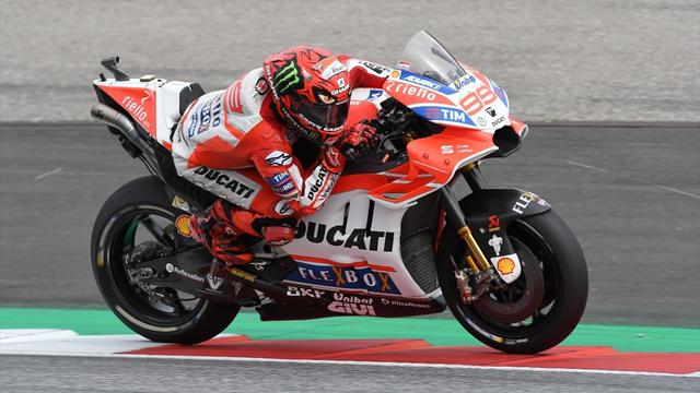 Dovizioso holds off Marquez in Japan