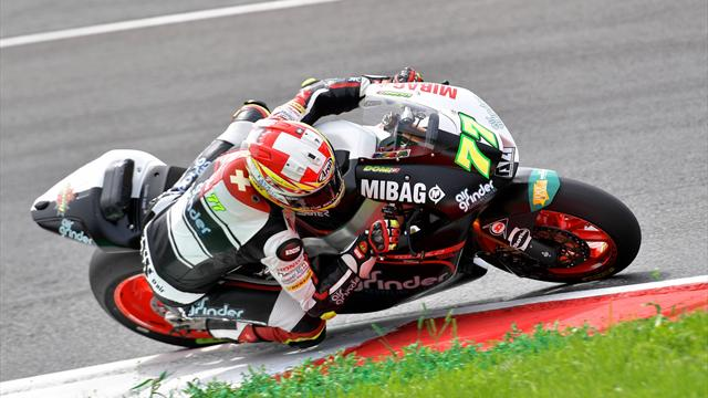 Schweizer Moto2-Doppelsieg: Aegerter vor Lüthi