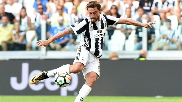 Juve midfielder Marchisio sidelined with knee problem