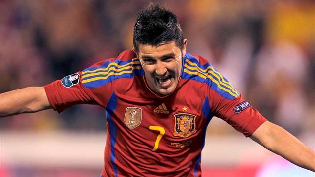 Vuelve el goleador histórico: David Villa fue convocado en España