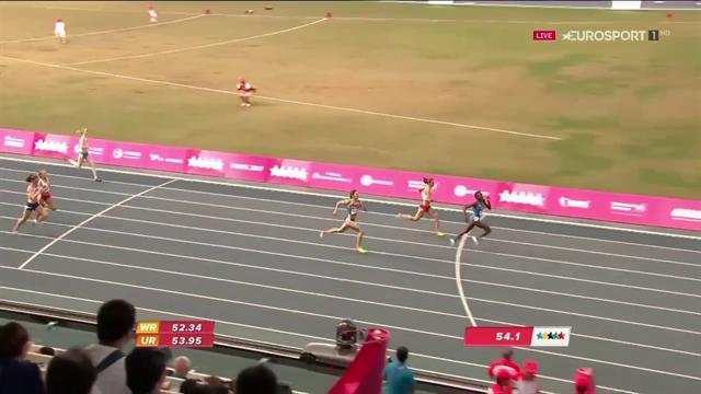 Grandiosa Ayomide Folorunso: vince l'oro nei 400 ostacoli alle Universiadi