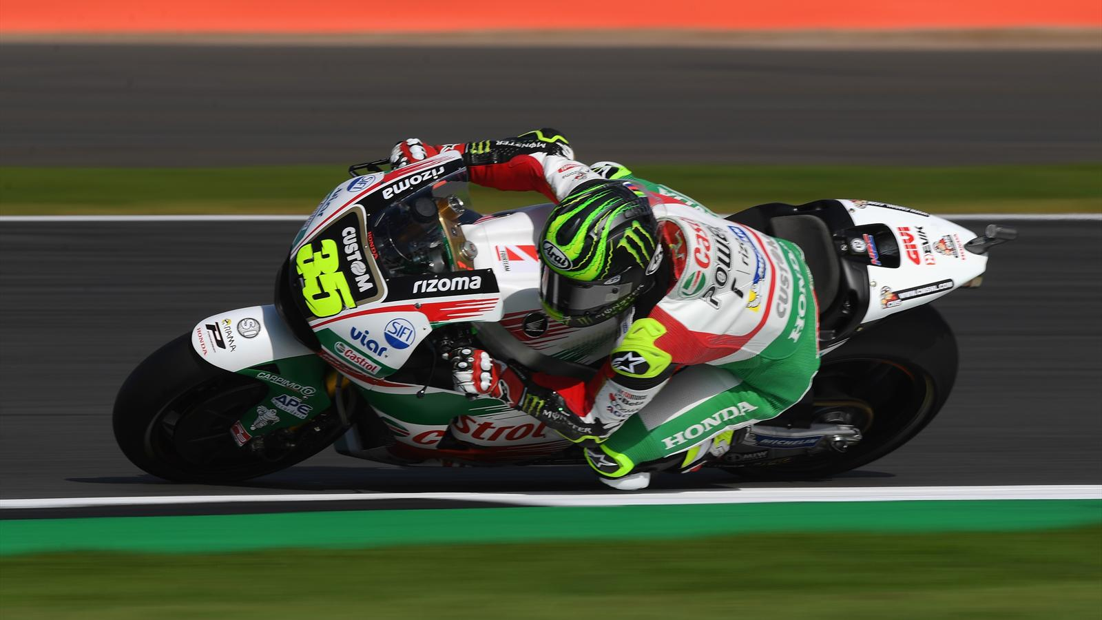 motogp cal crutchlow honda lcr meilleur temps des essais libres 2 silverstone grand prix. Black Bedroom Furniture Sets. Home Design Ideas