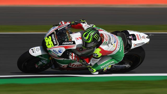 Injured Crutchlow fears he won't be able to ride