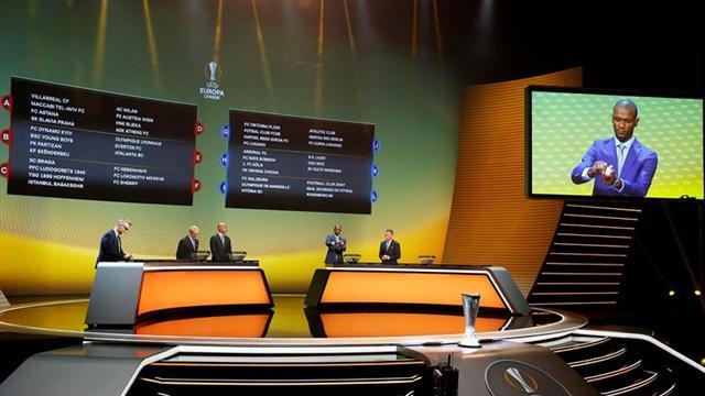 Exigente sorteo para Lyon y Lazio, más accesible para Milan y Arsenal