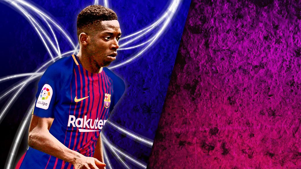 best sneakers 9de6c e9e59 Barcelona confirm Ousmane Dembele signing for €105m ...
