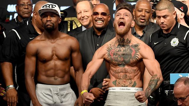 Avantage McGregor à la pesée