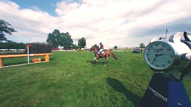 El espectacular primer vídeo 360º durante una prueba de saltos en unos Campeonatos Europeos