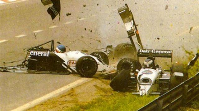 F1 coupées en 2, carambolage du siècle, furie Schumacher : Les incroyables de Spa