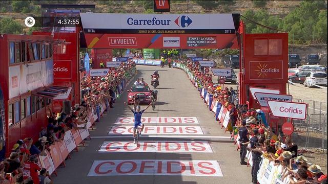Алафилиппе выиграл восьмой этап «Вуэльты»