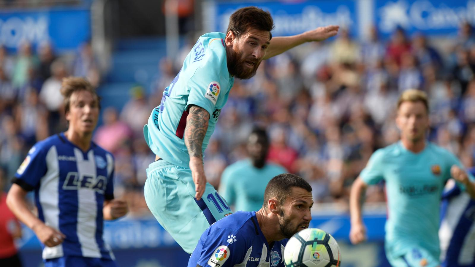 Live Deportivo Alavés Fc Barcelona Liga 26 August 2017 Eurosport