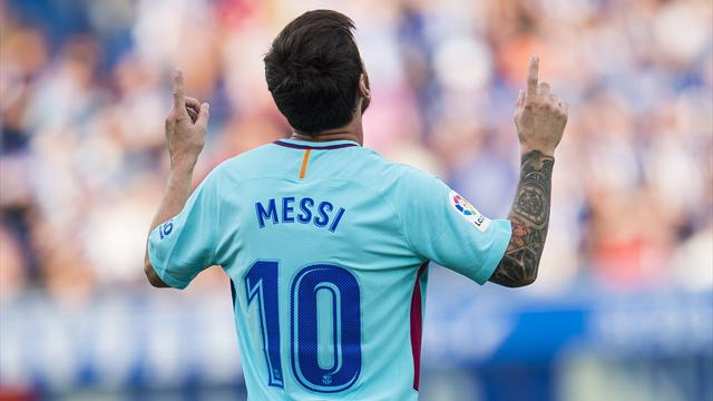 Bartomeu says Messi's new contract has been signed by his father