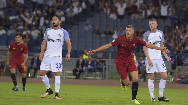 Roma, Perotti ko: rischia di saltare l'Inter