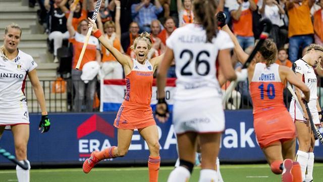 Holanda revalida el título tras ganar a Bélgica (3-0)