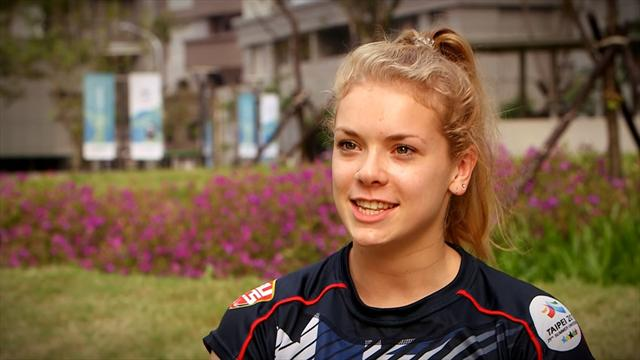 Dans le sillage de la nageuse britannique Anna Hopkin aux Universiades