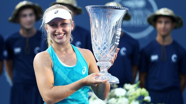 Гаврилова выиграла первый титул в карьере