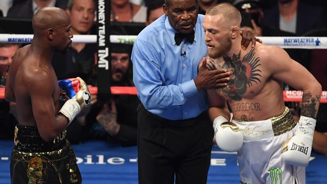 Así vivimos el gran combate entre Mayweather y McGregor