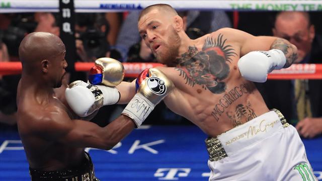 """McGregor : """"Je ne suis pas tombé, c'est une petite victoire pour moi"""""""