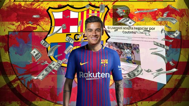 Euro Papers: Liverpool agree £148m Coutinho deal with Barcelona