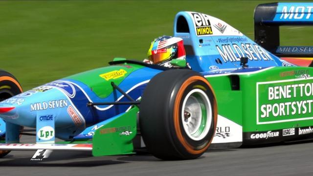 A Spa, Mick Schumacher a eu droit à un tour au volant de la voiture de son père