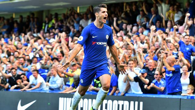 Premier League, Chelsea-Everton: Cesc y Morata prolongan la racha goleadora del 'spanish Chelsea'