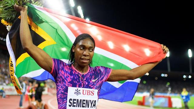 Caster Semenya bate la plusmarca mundial de 600 con 1:21.77