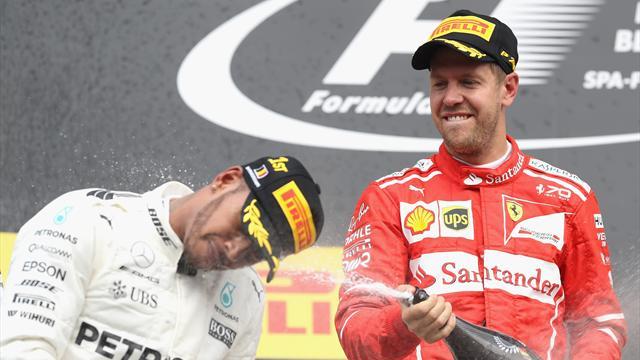 Le pagelle: Hamilton perfetto, grande gara di Ricciardo. Lontana la Ferrari