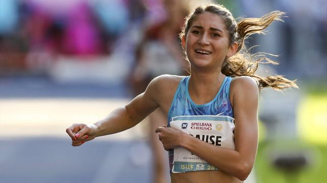 Krause läuft deutschen Rekord - Weltrekord für Semenya