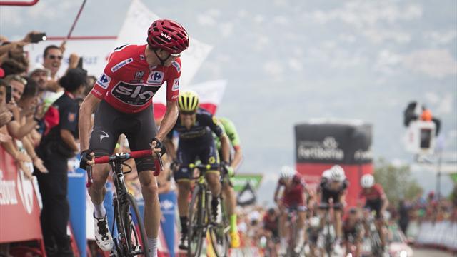 Froome remporte la 9e étape et conforte son avance en tête