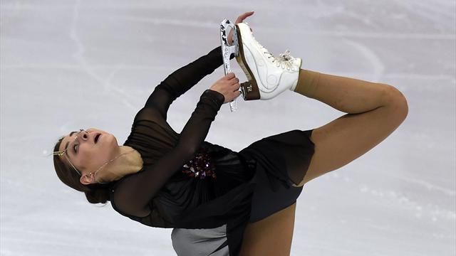 Eiskunstlauf-Olympiasiegerin Sotnikowa sagt Start in Pyeongchang ab