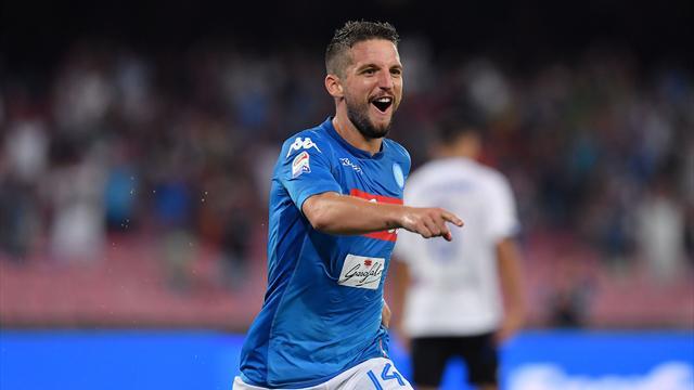 Atalanta, niente bis contro il Napoli: Mertens-gol, i partenopei sbancano Bergamo fotogallery