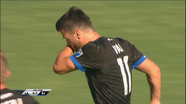 MLS: LA Galaxy-San Jose Earthquakes 0-3, gli highlights
