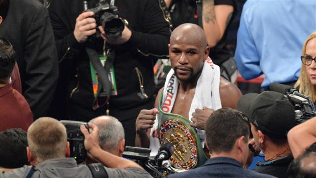 Mayweather still recalls first pro pay cheque