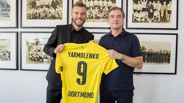 Dortmund sign £23m Yarmolenko as Dembele replacement
