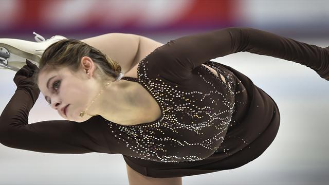 Magersucht: Eiskunstlauf-Olympiasiegerin Lipnizkaja beendet Karriere