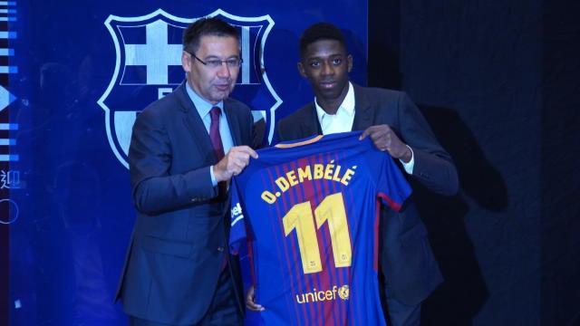 Dembélé : »Je ne suis pas là pour remplacer Neymar»